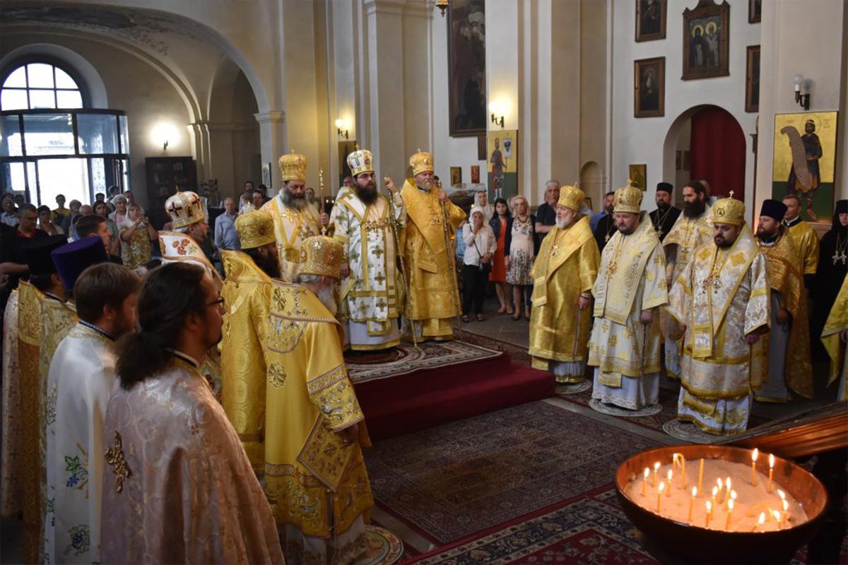 Oslavy 1155. výročia od príchodu solúnskych bratov v Prahe