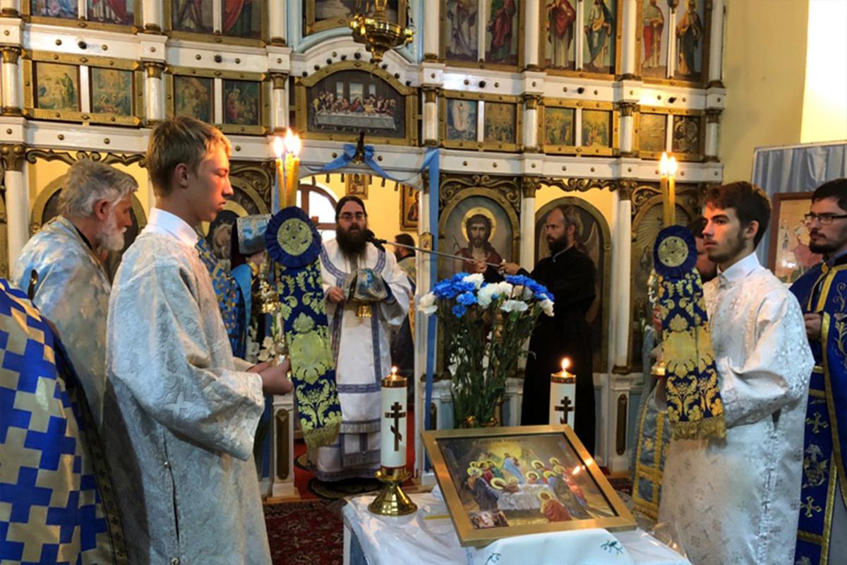 Oslavy Usnutia Presvätej Bohorodičky v Ľutine