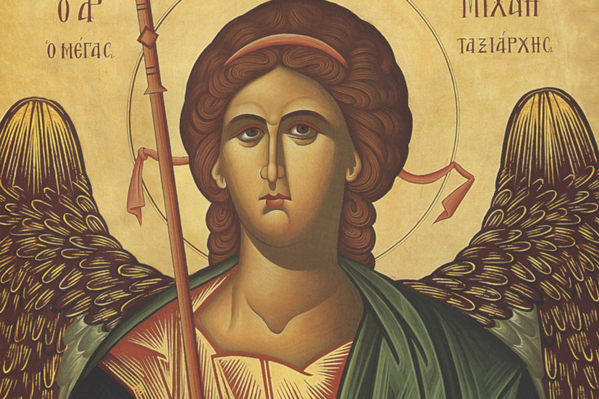 Sv. archanjel Michal aostatné nebeské netelesné mocnosti