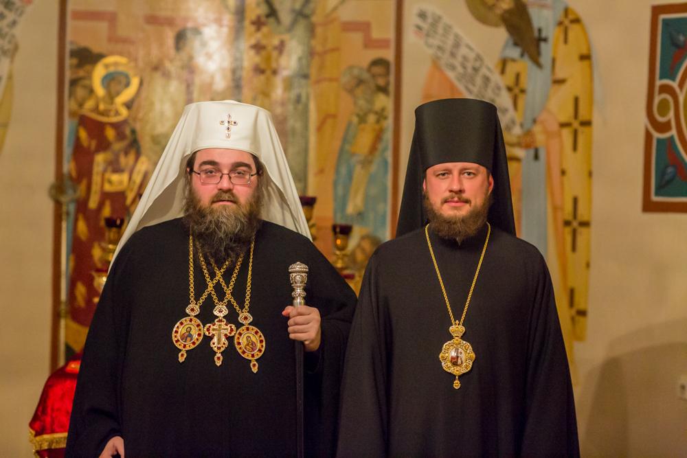 Metropolita Rastislav prijal biskupa Ukrajinskej pravoslávnej cirkvi