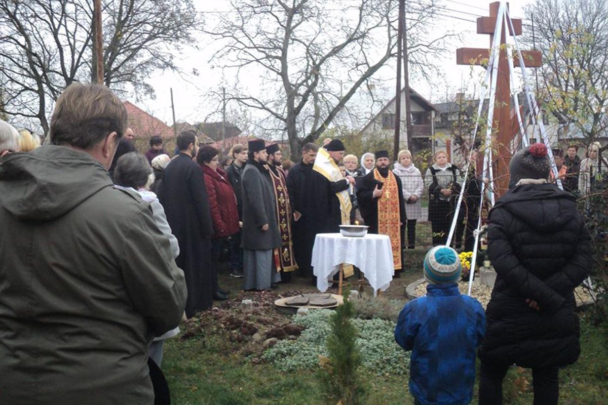 Misijná činnosť o. Ignatija Čokinu na dolnom Zemplíne a posvätenie kríža v Tibave