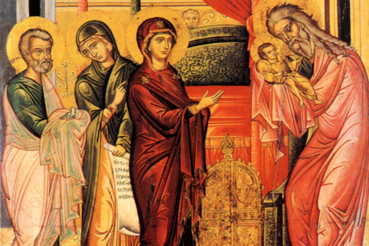 Sritenie (Stretnutie) Hospodinovo, 2.2./15.2.