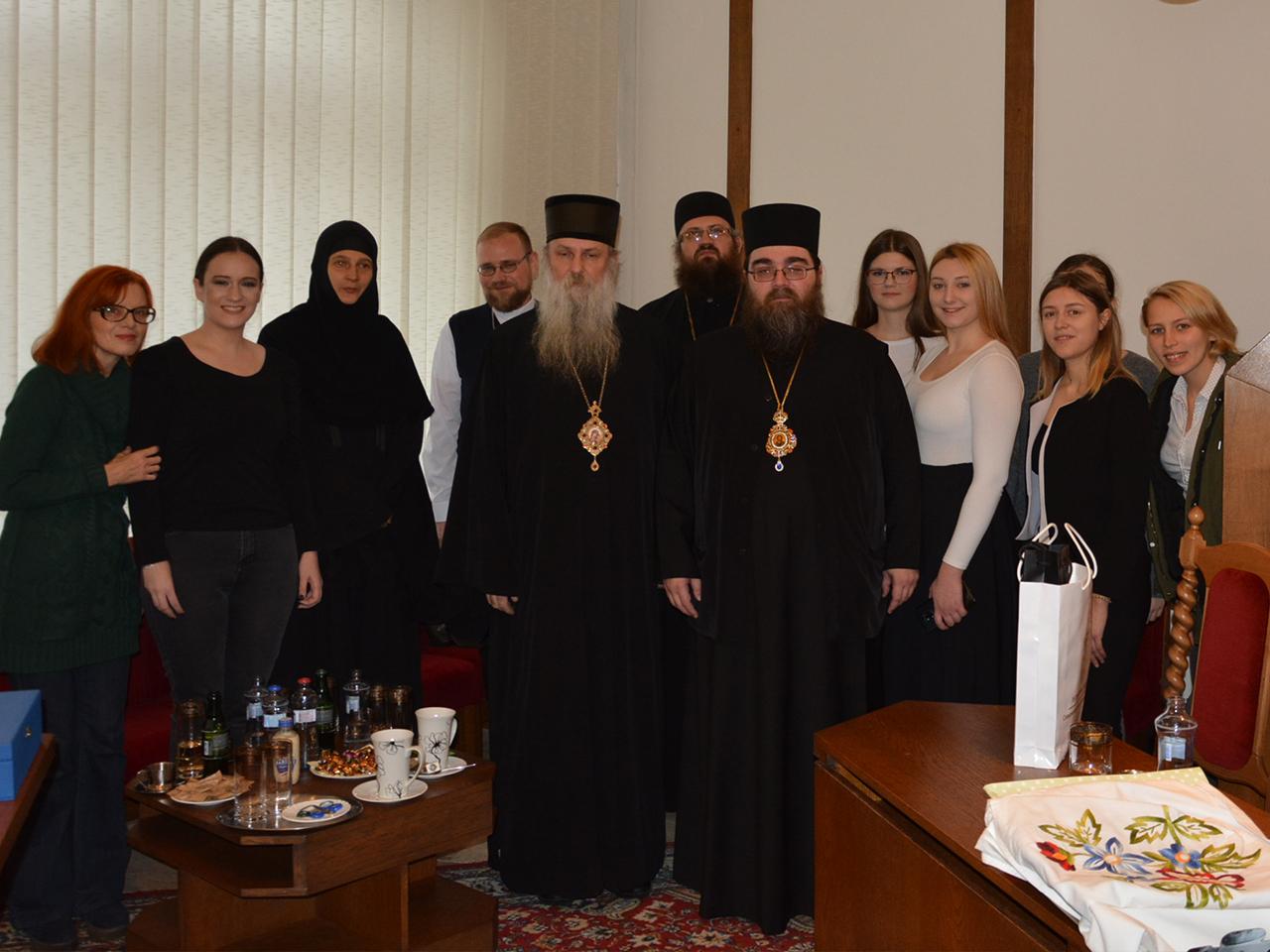 Metropolita Rastislav prijal srbského episkopa Jovana