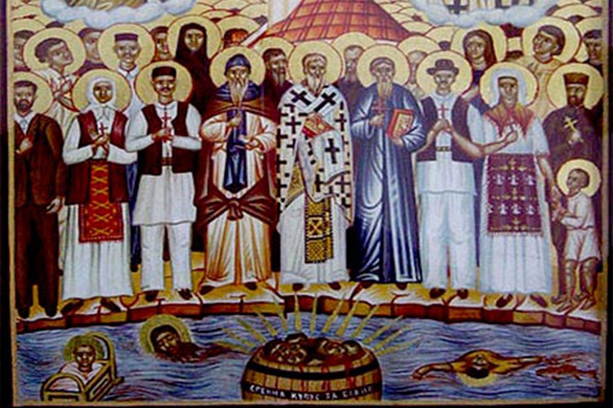 Vyhladzovací tábor v Jasenovci ako svedok zmŕtvychvstania a nie smrti