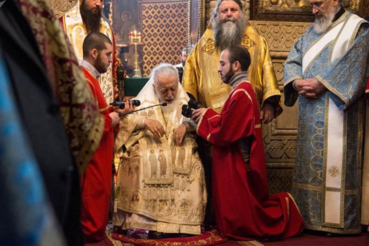 Gruzínsky patriarcha porozprával o svojej vízii v súvislosti s koronavírusom