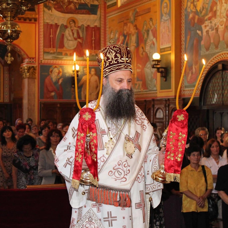 Novým srbským patriarchom sa stal metropolita Porfírij (Perič)